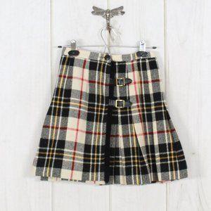 Vintage PEERLESS of Boston Pleated Wrap Skirt 12